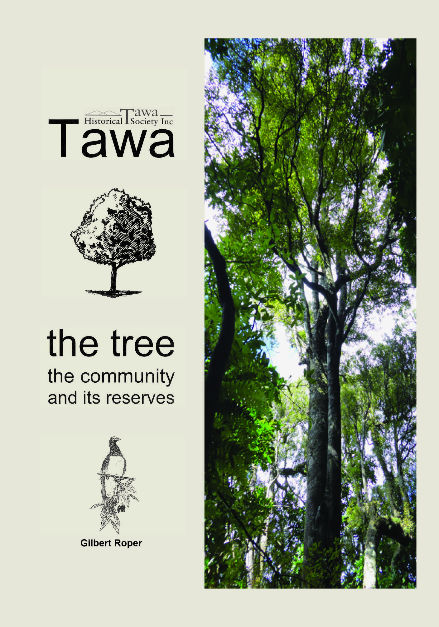 Book Tawa tree community reserves by Gil Roper