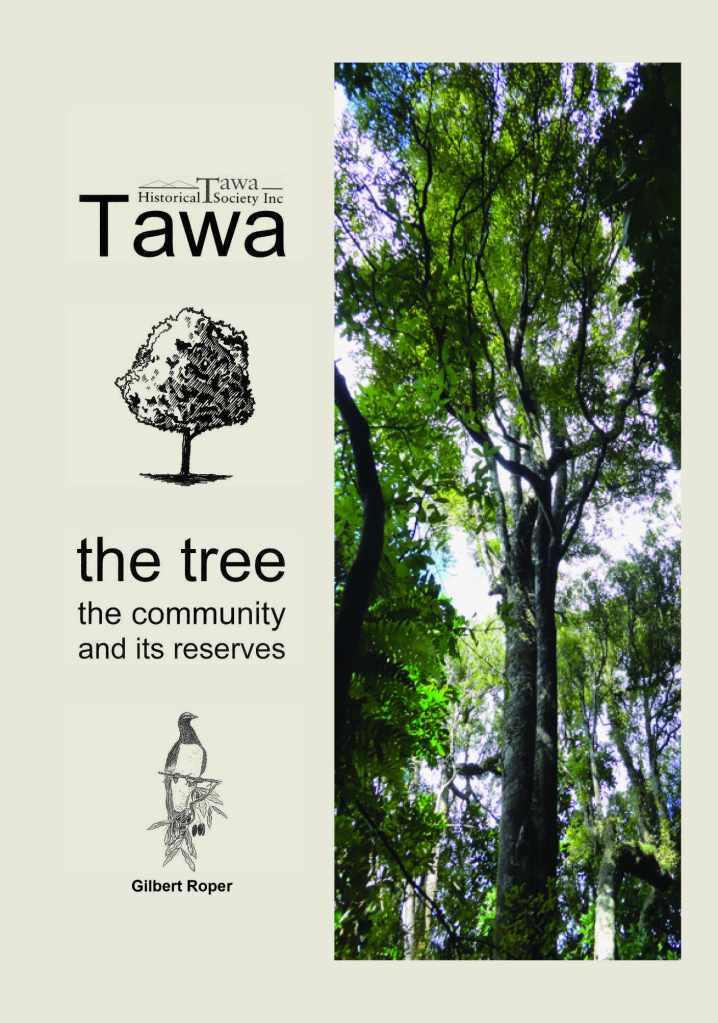 Book Tawa tree community reserves Gil Roper
